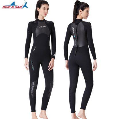 New 3mm Neoprene+Shark Skin Patchwork Wet Suit for Men Women Diving Scuba Snorkeling Surfing Keep Warm Anti-scratch UPF50+ 4