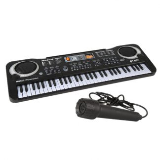 61 Keys Electronic Organ Multi-Function Keyboard Piano Digital Music Electronic Musical Instrument With Microphone