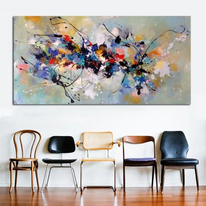 Hot Sell Canvas Painting Abstract Wall Art Wall Pictures For Living Room Home Decoration Canvas Printing Free shipping