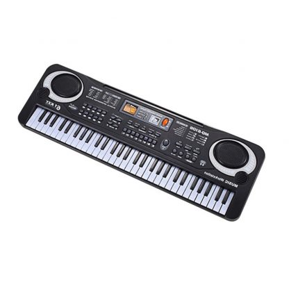 HOT Sale 61 Key Digital Electronic Piano Keyboard With Microphone Musical Instrument Gift For Children EU Plug  3