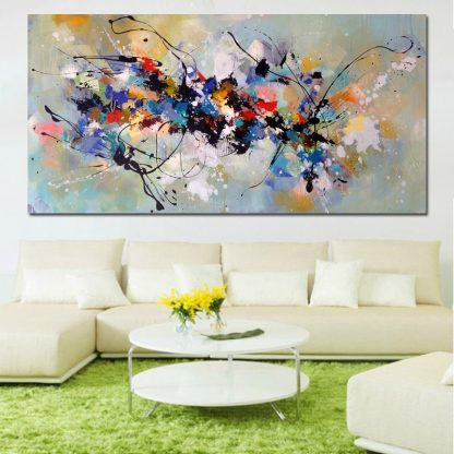 Hot Sell Canvas Painting Abstract Wall Art Wall Pictures For Living Room Home Decoration Canvas Printing Free shipping 1