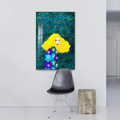 Nordic Modern Style Handdraw Characters Colorful Canvas Painting Poster Print Decor Wall Art Pictures For Living Room Bedroom 1