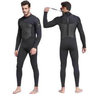 Sbart New One-Piece Neoprene 3mm Diving Suit Winter Long Sleeve Men Wetsuit Prevent Jellyfish Snorkeling Suit Free Shipping S753