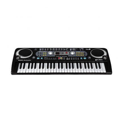 54 Keys Digital Electronic Electric Piano With Keyboard & Microphone Electric Led Adult Size EU Plug US Plug Toy For Kids Gifts 1