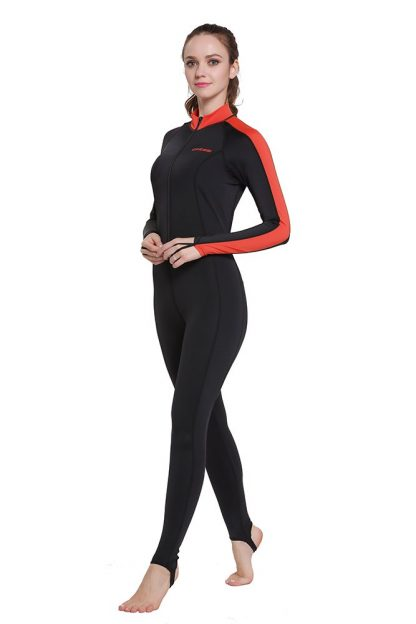 Cressi Lycra All-In-One Rash Skin Suit Rash Guard Suit Wetsuits Snorkeling Suit Anti-Jellyfish Anti Scratch for Adults Men W 1
