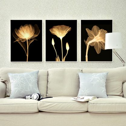 3 Piece Canvas painting Modern Abstract Art Home Decor Oil painting Wall Art Picture Canvas Prints Poster Living Room Decoration 1
