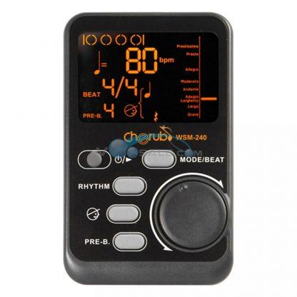 Cherub WSM-240 Portable Metronome Musical Digital Metronome Drum Metronome Rhythm Musical Tutor Instruments Guitar Accessories