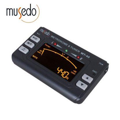 Musedo MT-40 Guitar Tuner Electronic Digital 3 in 1 LCD Guitar/bass/violin/ukulele Tuner Metronome Tone Generator Tuner Clip 1