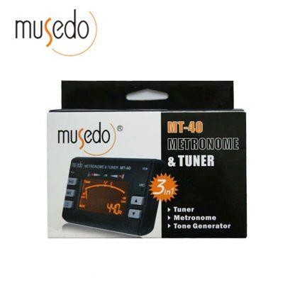 Musedo MT-40 Guitar Tuner Electronic Digital 3 in 1 LCD Guitar/bass/violin/ukulele Tuner Metronome Tone Generator Tuner Clip 4