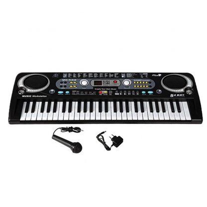 54 Keys Digital Electronic Electric Piano With Keyboard & Microphone Electric Led Adult Size EU Plug US Plug Toy For Kids Gifts 3