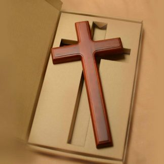 Song Of The Gift Tree Fraxinus Mandshurica Solid Wood Cross Mahogany 32cm Christian Gift Wall Hanging wall crosses