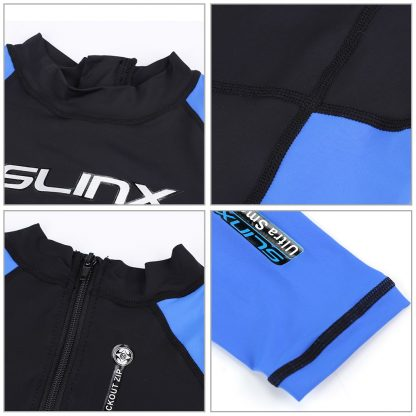 SLINX Unisex Full Body Diving Suit Men Women Scuba Diving Wetsuit Swimming Surfing UV Protection Snorkeling Spearfishing Wetsuit 4
