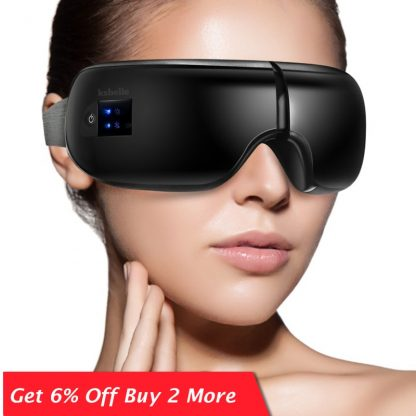 Wireless Eye Massager Air Compression Eye Massage with Music Smart Eye Massage Heated Goggles Anti Wrinkles Eye Care 1