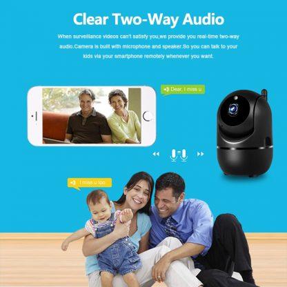 무선 와이파이 카메라 스마트 자동추적 CCTV1080P Wireless IP Camera Cloud Wifi Camera Smart Auto Tracking Human Home Security Surveillance CCTV Network 4