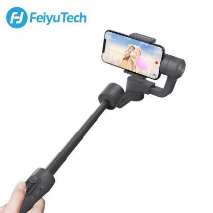 페이유 짐벌 스태빌라이저 스마트폰 유튜브 개인방송용 3축 짐발 디지털FeiyuTech Vimble 2 Feiyu 3-Axis Handheld Gimbal Smartphone Stabilizer Extendable Pole Tripod for iPhone X 8 XIAOMI Samsung 3