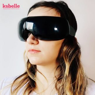 Wireless Eye Massager Air Compression Eye Massage with Music Smart Eye Massage Heated Goggles Anti Wrinkles Eye Care