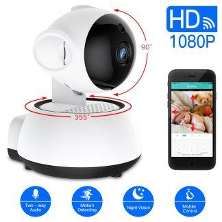 홈 가정용 무선 와이파이 CCTV SDETER Wireless Security Camera IP Camera WIFI Home CCTV Camera 1080P 720P Audio Surveillance P2P Night Vision Baby Monitor Cam