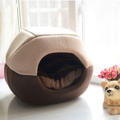 반려동물 접이식 2가지 용도 침대 쿠션  Uses Foldable Soft Warm Pet Cat Bed Dog Bed For Dogs Cave Puppy Sleeping Mat Pad Nest Blanket Pet Beds For Cats Bed House Cat 2