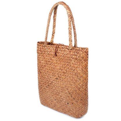Fashion Womens Summer Straw Large Tote Bag Crossbody Beach Shoulder Bag Handbag 5