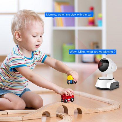 홈 가정용 무선 와이파이 CCTV SDETER Wireless Security Camera IP Camera WIFI Home CCTV Camera 1080P 720P Audio Surveillance P2P Night Vision Baby Monitor Cam 3