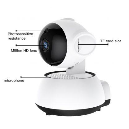 홈 가정용 무선 와이파이 CCTV SDETER Wireless Security Camera IP Camera WIFI Home CCTV Camera 1080P 720P Audio Surveillance P2P Night Vision Baby Monitor Cam 4