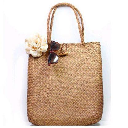 Fashion Womens Summer Straw Large Tote Bag Crossbody Beach Shoulder Bag Handbag 3