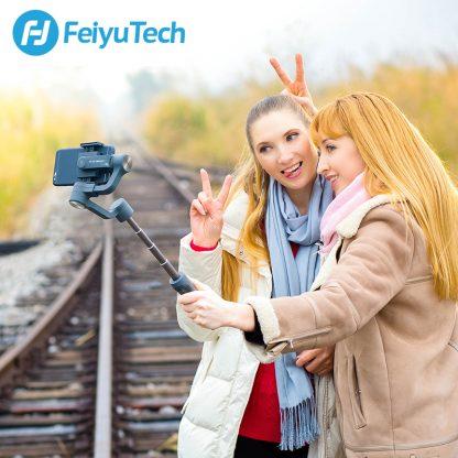 페이유 짐벌 스태빌라이저 스마트폰 유튜브 개인방송용 3축 짐발 디지털FeiyuTech Vimble 2 Feiyu 3-Axis Handheld Gimbal Smartphone Stabilizer Extendable Pole Tripod for iPhone X 8 XIAOMI Samsung 4