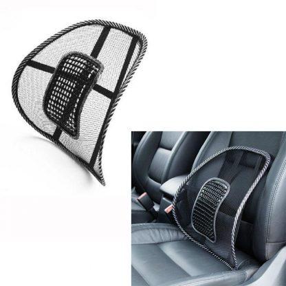 차량용 등쿠션 40CMx40CM Universal Car Back Support Chair Massage Lumbar Support Waist Cushion Mesh Ventilate Cushion Pad For Car Office Home 3