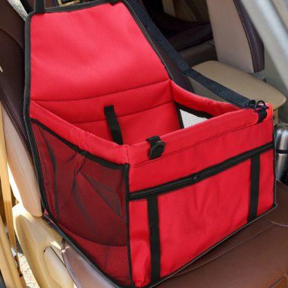 차량용 펫 가방 강아지 고양이 반려동물 Pet Dog Carrier Pad Waterproof Dog Seat Bag Basket Pet Products Safe Carry House Cat Puppy Bag Dog Car Seat