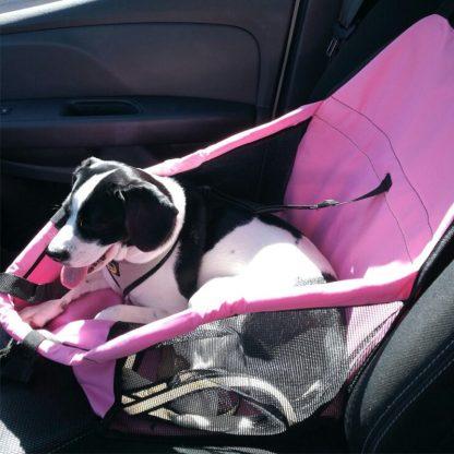 차량용 펫 가방 강아지 고양이 반려동물 Pet Dog Carrier Pad Waterproof Dog Seat Bag Basket Pet Products Safe Carry House Cat Puppy Bag Dog Car Seat 2