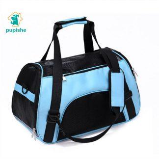 반려동물 강아지 고양이 펫 가방 숄더 크로스 PUPISHE Pet Backpack Messenger Carrier Bags Cat Dog Carrier Outgoing Travel Packets Breathable Pet Handbag Yorkie Chihuahua