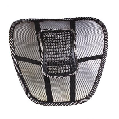 차량용 등쿠션 40CMx40CM Universal Car Back Support Chair Massage Lumbar Support Waist Cushion Mesh Ventilate Cushion Pad For Car Office Home 1