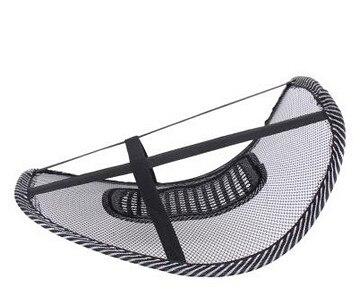 차량용 등쿠션 40CMx40CM Universal Car Back Support Chair Massage Lumbar Support Waist Cushion Mesh Ventilate Cushion Pad For Car Office Home 2