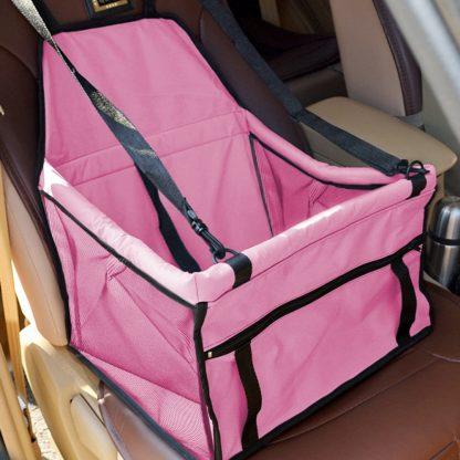차량용 펫 가방 강아지 고양이 반려동물 Pet Dog Carrier Pad Waterproof Dog Seat Bag Basket Pet Products Safe Carry House Cat Puppy Bag Dog Car Seat 4