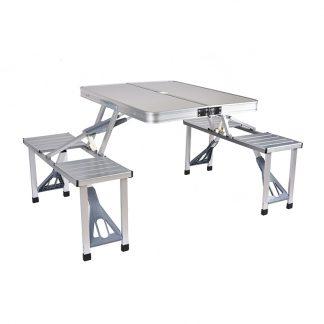 낚시 캠핑 아웃도어 테이블 의자 접이식Outdoor Folding Table Chair   Camping Aluminium Alloy Picnic Table Waterproof Ultra-light Durable Folding Table Desk For