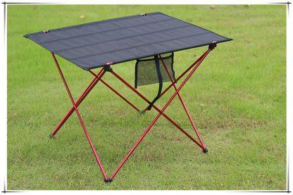 Outdoor Ultralight Portable Folding Desk Aluminum Alloy Table For Fishing Picnic Durable Folding Table Desk 5