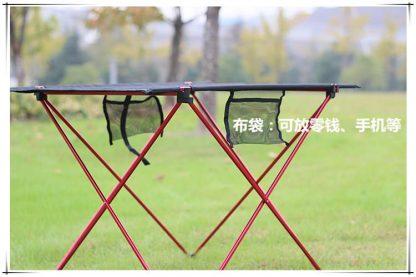 Outdoor Ultralight Portable Folding Desk Aluminum Alloy Table For Fishing Picnic Durable Folding Table Desk 4