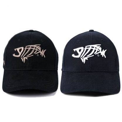 Fashion Baseball Cap for Men Fish bones Embroidery Cotton Caps New Summer Black Dad Hats Male Hip Hop Snapback Cap Adjustable 2