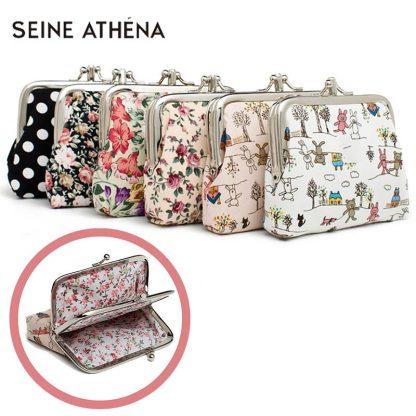 Canvas Women Coin Purse Small Mini Bag For Coin Plush Purse Wallet Girl Little Bag For Ladies Small Pouch Kawaii Children Wallet