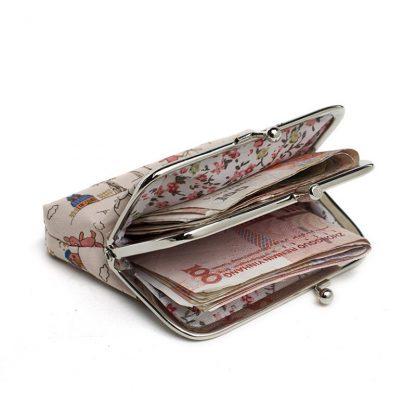Canvas Women Coin Purse Small Mini Bag For Coin Plush Purse Wallet Girl Little Bag For Ladies Small Pouch Kawaii Children Wallet 5