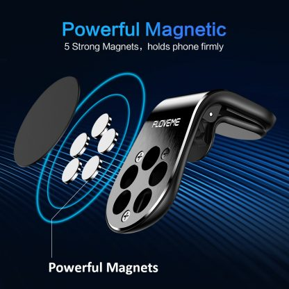 FLOVEME Car Phone Holder For Phone In Car Mobile Support Magnetic Phone Mount Stand For Tablets And Smartphones Suporte Telefone 2