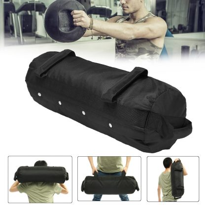 4 Pcs/Set Weightlifting Sandbag Heavy  Sand Bags Sand Bag MMA Boxing Crossfit Military Power Training Body Fitness Equipment 5