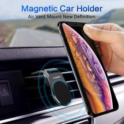 FLOVEME Car Phone Holder For Phone In Car Mobile Support Magnetic Phone Mount Stand For Tablets And Smartphones Suporte Telefone 1